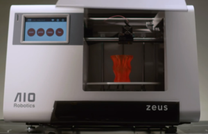 Zeus, All-in-one 3D printer